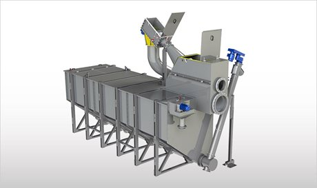 WASTEMASTER TSF 2-3 - Compact Plants for Mechanical Effluent Pre-treatment